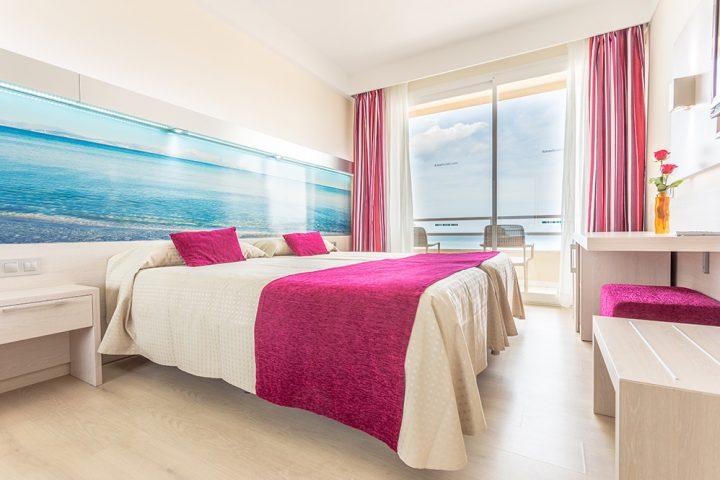 Neu gestaltete Hotelzimmer