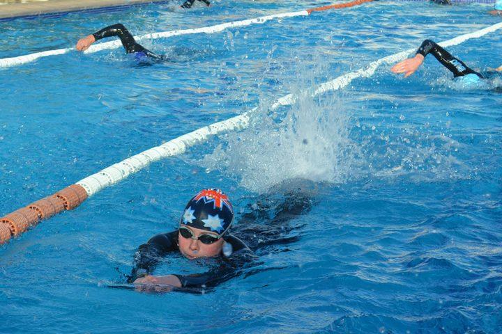Schwimmtraining Kids